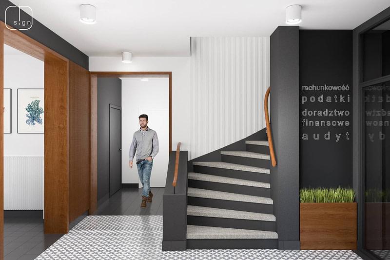 projekt wnętrz biurowych