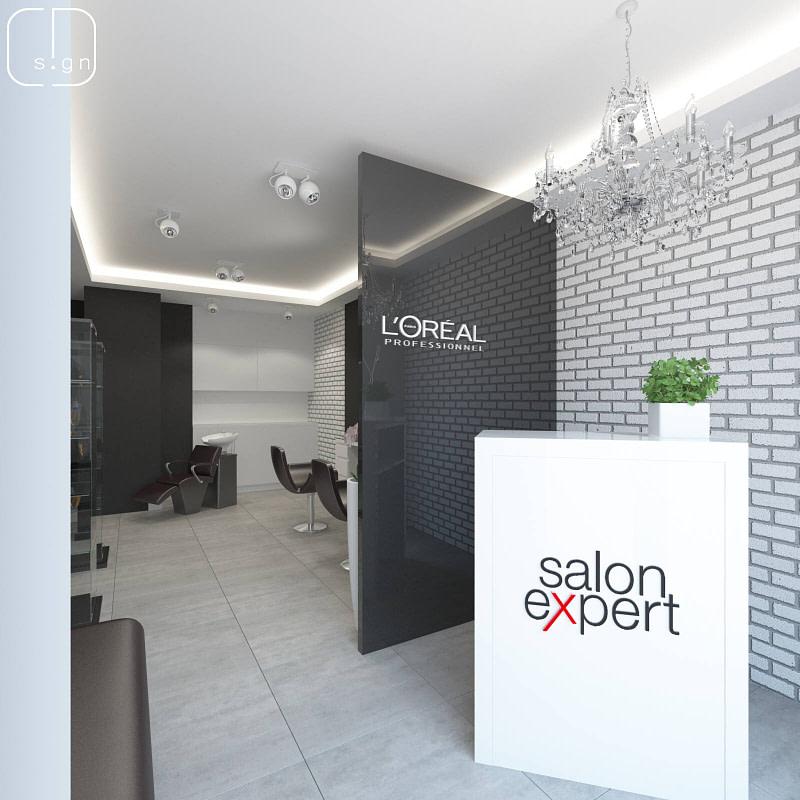 projekt salonu fryzjerskiego w katowicach