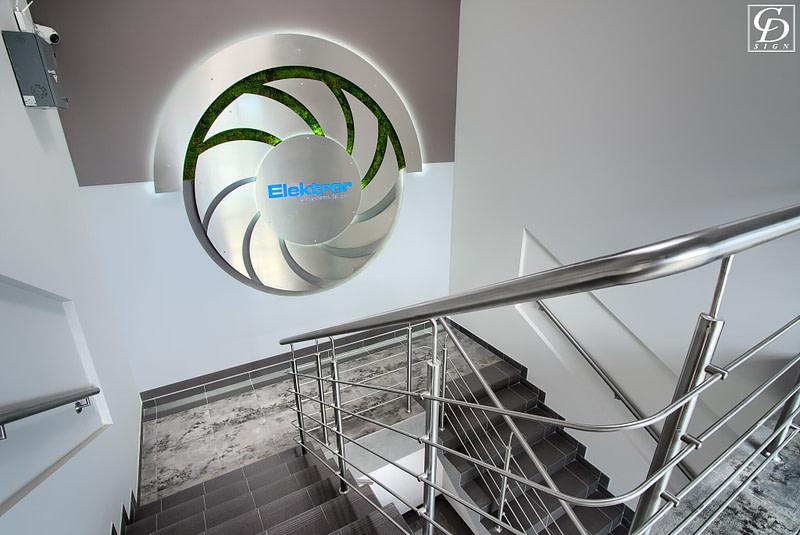 projekt wnętrz biurowych firmy elektror z chorzowa