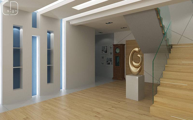 projekt wnętrz domu w katowicach
